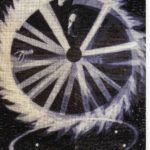 Celtic theory of the sun wheel, mosaic, 47th St. crosspassage