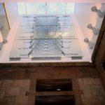 Atrium as seen from below, photo Phyllis Bretholz