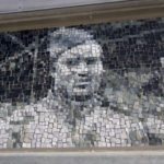 detail of mosaic