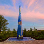 photo of 20' spire by Craig Collins